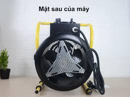 Hệ thống quạt tản nhiệt của máy sấy gió nóng