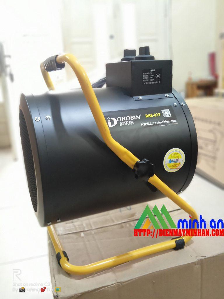 Máy sấy gió nóng công nghiệp Dorosin DHE-03Y