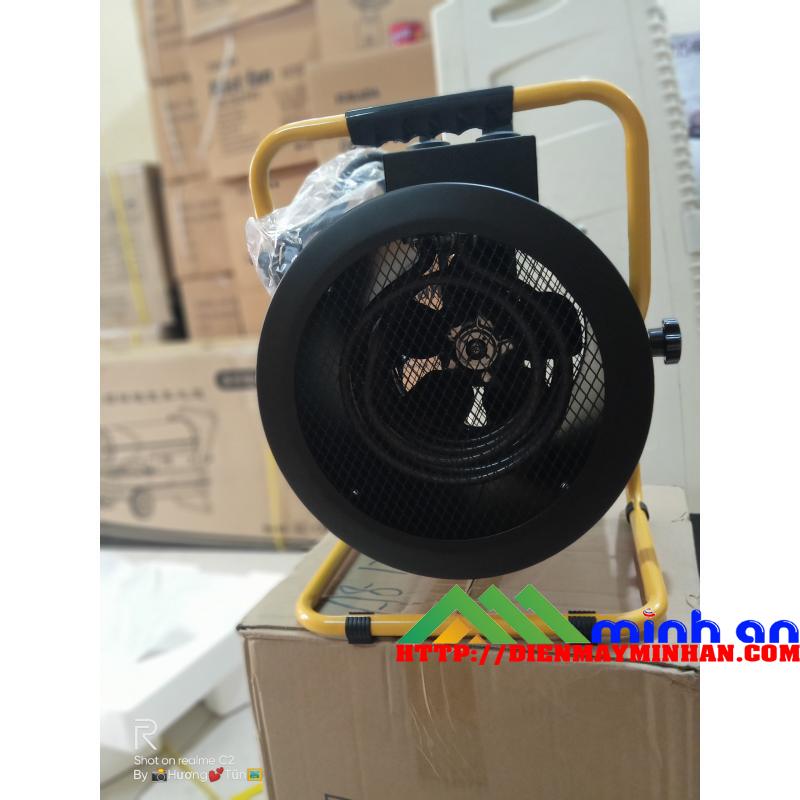 Hệ thống quạt của máy sây gió nóng Dorosin 3KW