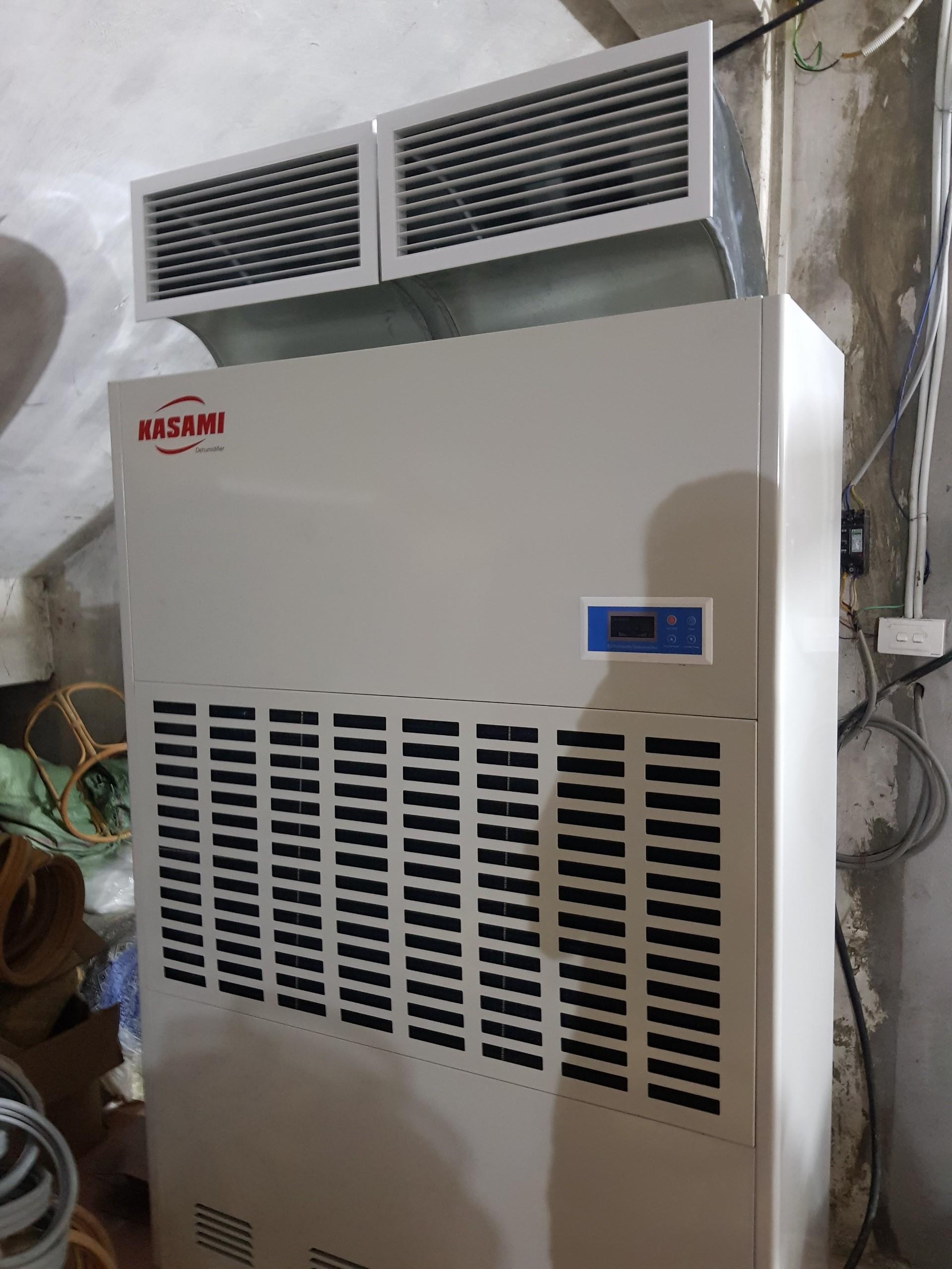 Máy hút ẩm Kasami KD-480 sử dụng sấy