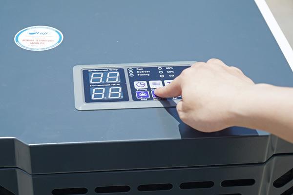 Bảng điều khiển của Fujie HM-150N