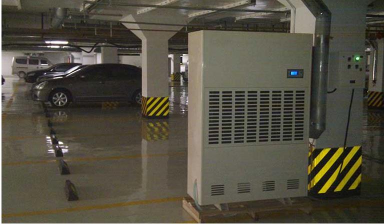 Máy hút ẩm công nghiệp Dorosin trong ngành Bất động Sản.
