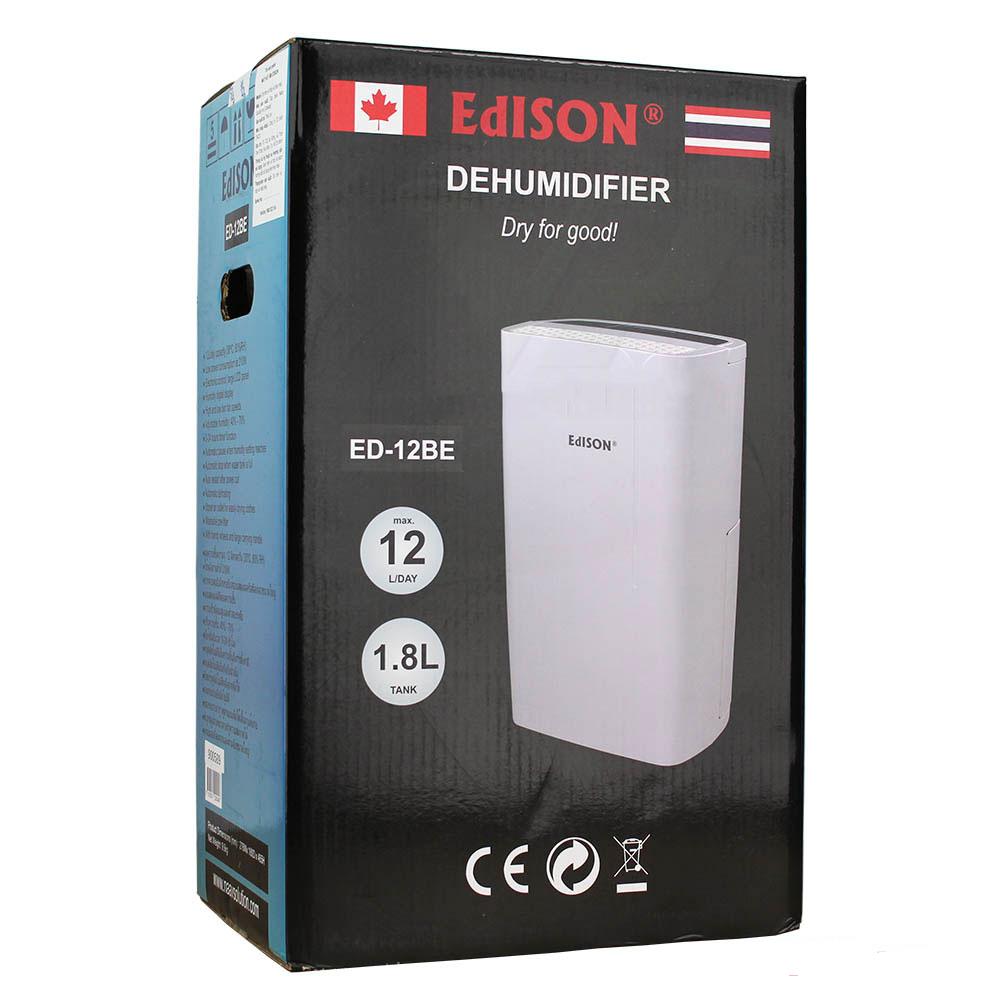 Quy cách của máy hút ẩm Edison ED-12BE