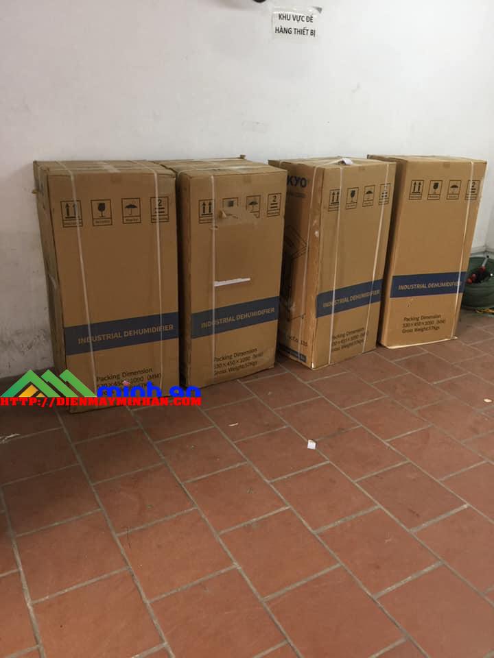 Lắp đặt máy hút ẩm công nghiệp Aikyo AD-1500B