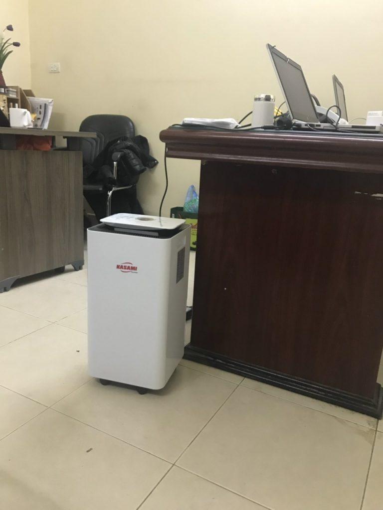 sử dụng máy hút ẩm chống nồm ẩm