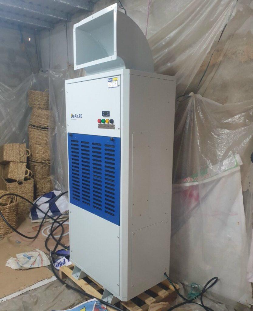 Máy hút ẩm DeAir RE-480 dùng để sấy