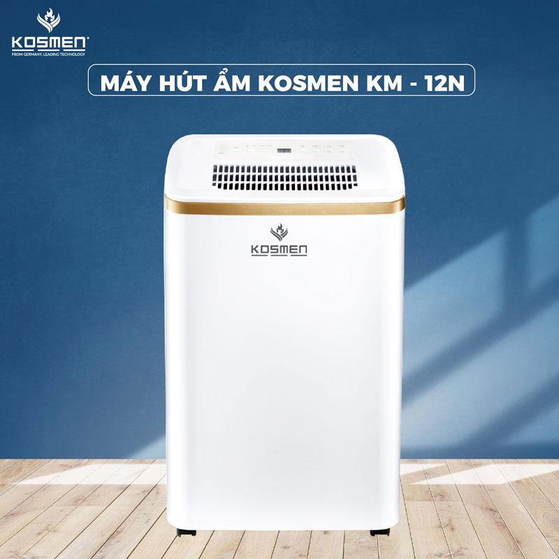 Máy hút ẩm dân dụng KOSMEN KM – 12N ( 12 LÍT/NGÀY)