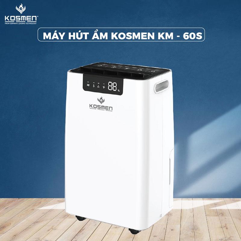 Máy hút ẩm Kosmen KM-60S ( 60 lít/ngày)
