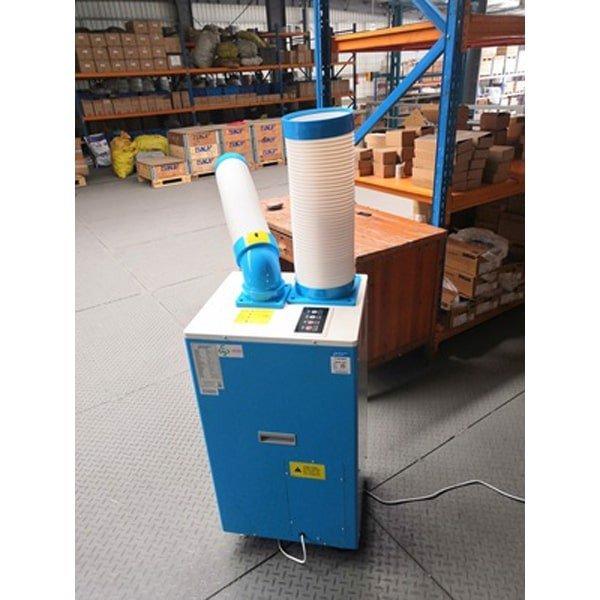 Lắp đặt điều hòa di động Dorosin cho công xưởng