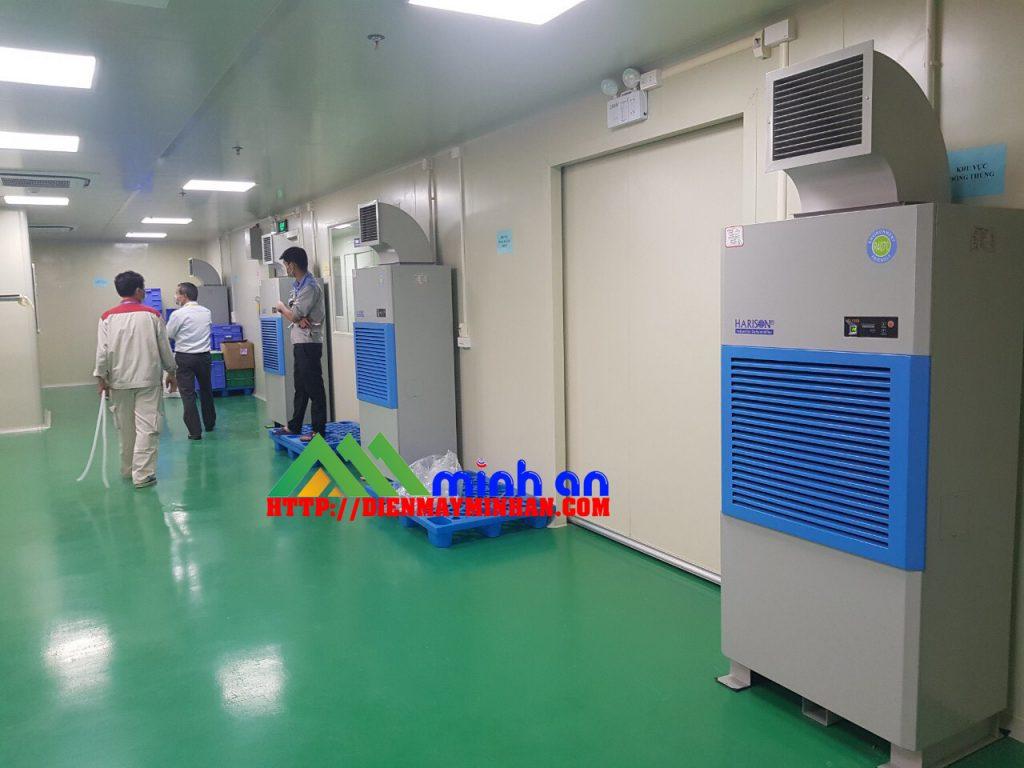 Hệ thống máy hút ẩm công nghiệp