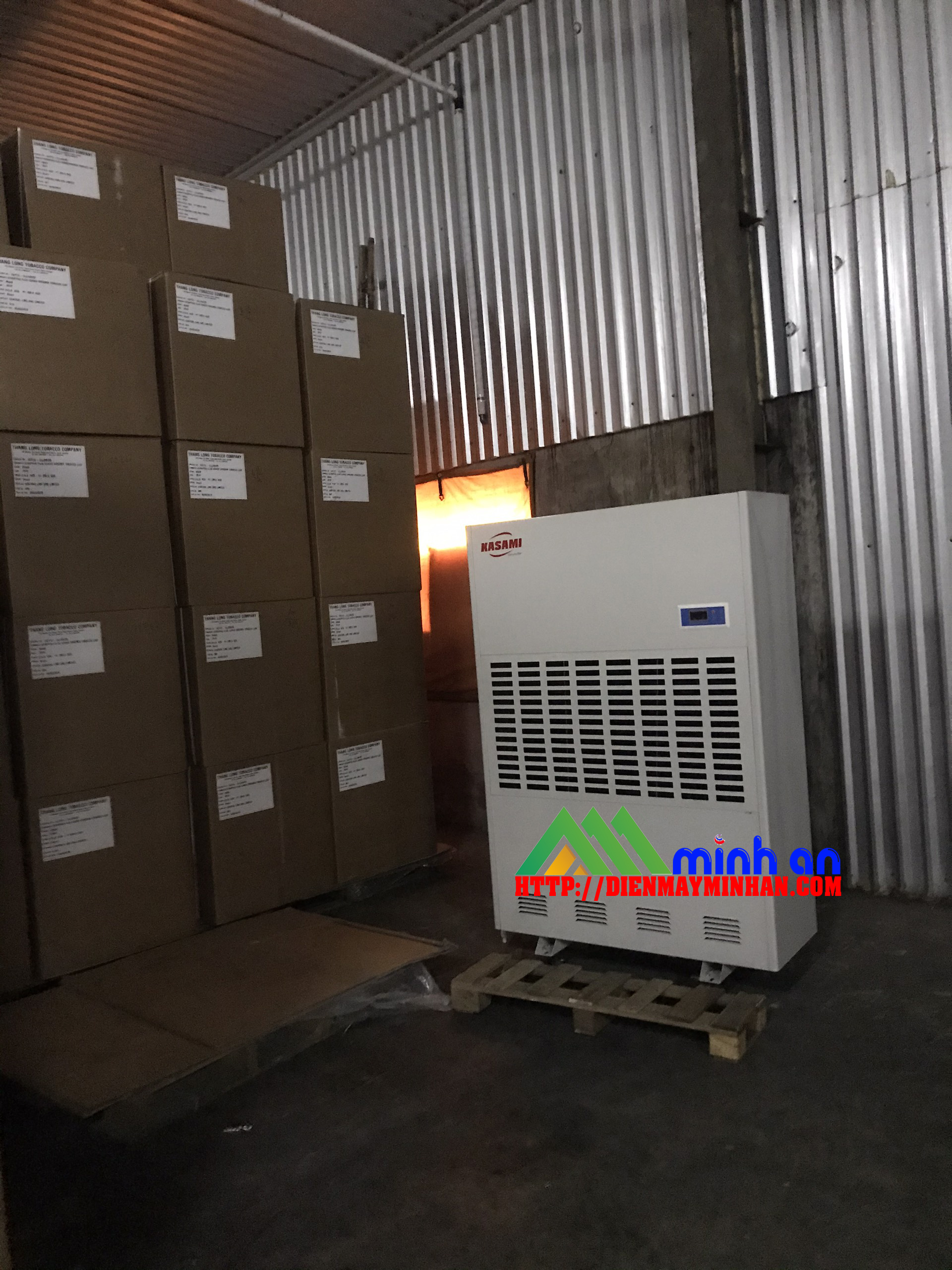 Máy hút ẩm công nghiệp Kasami KD-480 kho bản quản