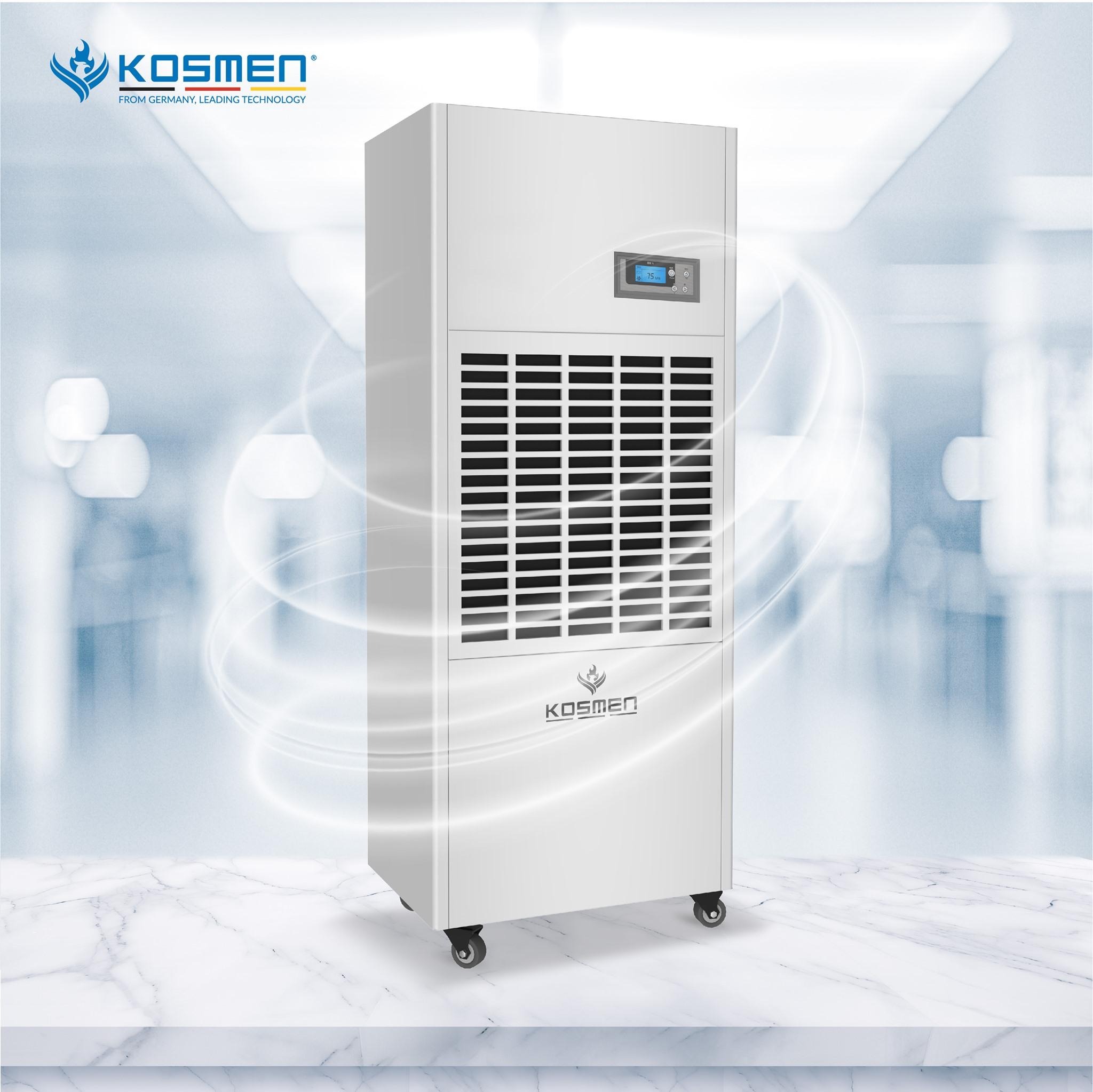 Máy hút ẩm công nghiệp Kosmen KM-180S (180 lit/ngày)