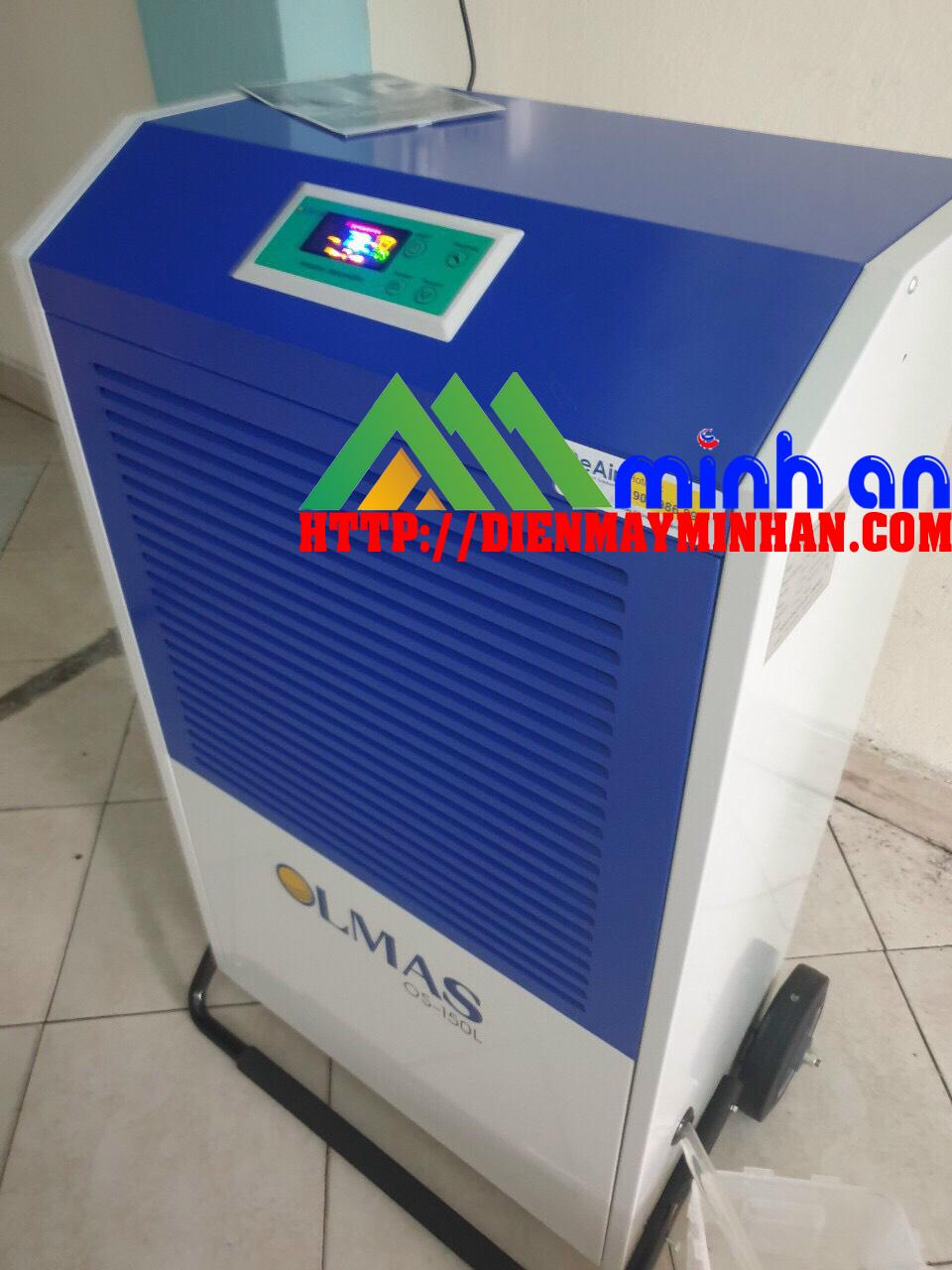 Mặt điều khiển của máy hút ẩm OLMAS OS-150L