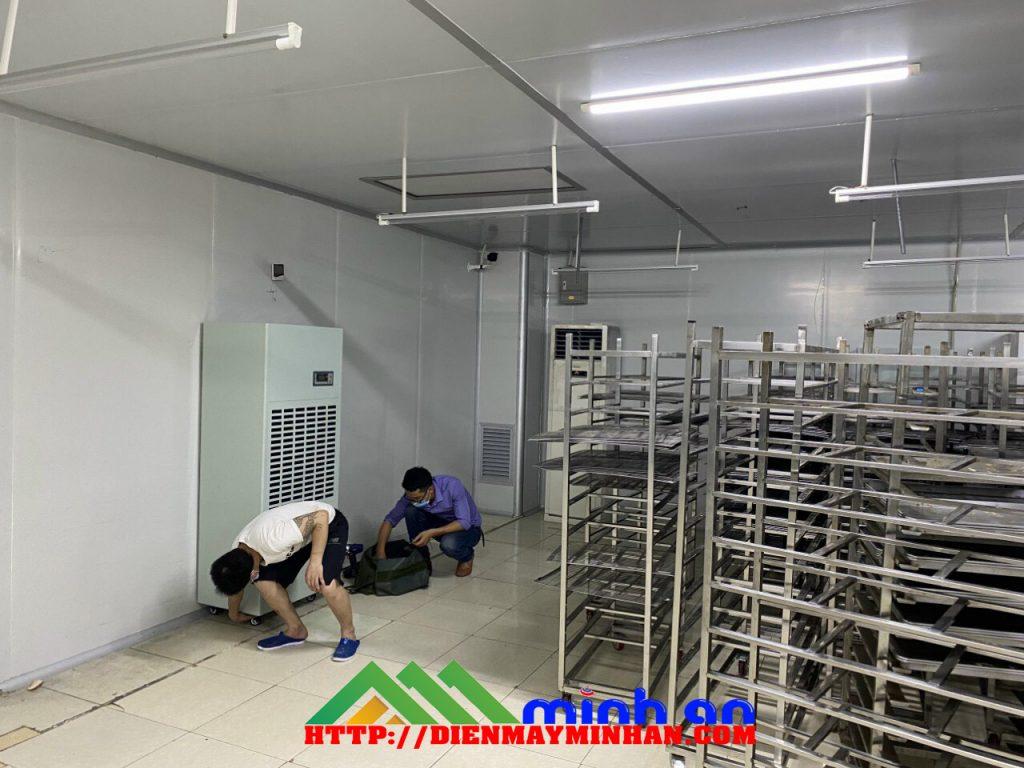 Máy hút ẩm công nghiệp cho kho lương thực