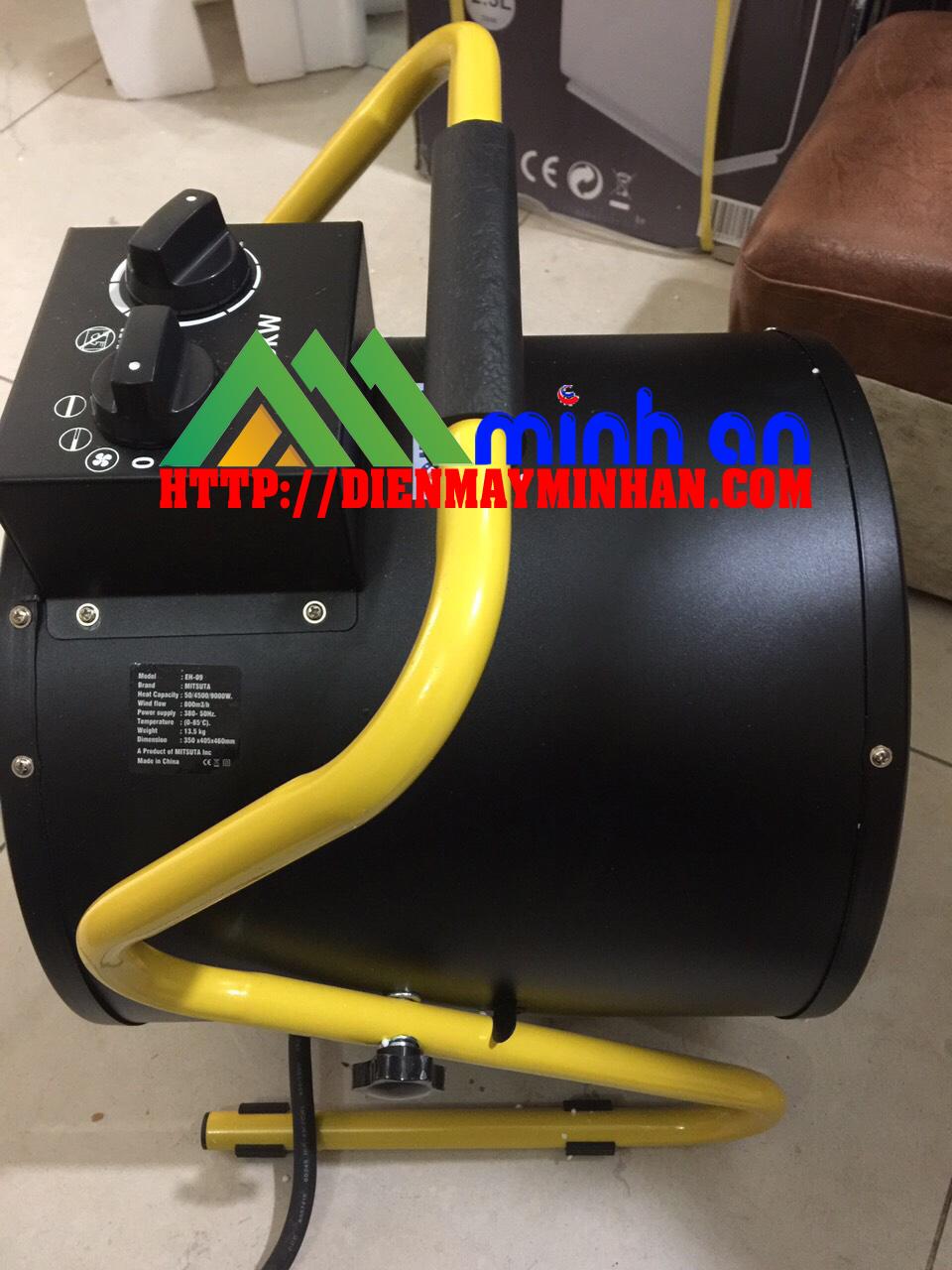 Máy sấy gió nóng công nghiệp EBISU EH-09 -FY-C9 ( 9kw)