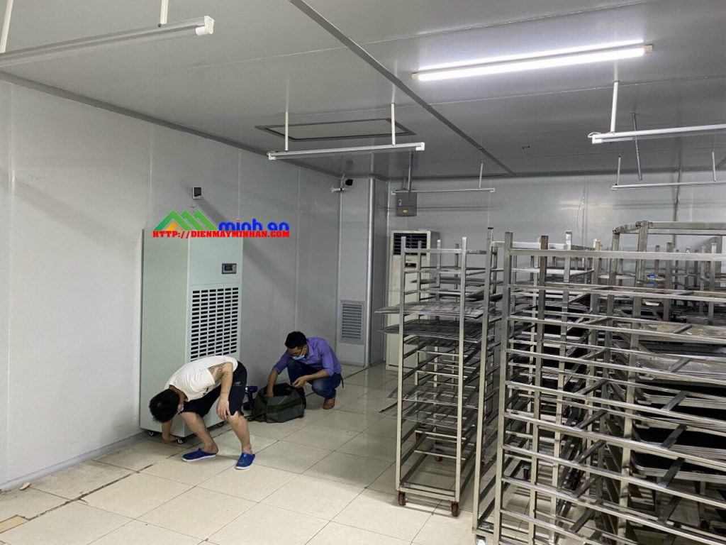 Lắp đặt máy hút ẩm Dorosin