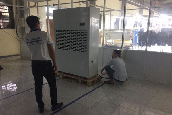 Lắp đặt máy hút ẩm Fujie HM-6480EB tại Thanh Hóa