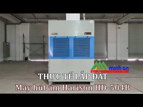 Thực tế lắp đặt máy hút ẩm Harison HD-504B